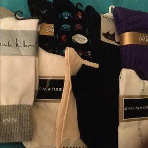 Accessories - Women's Socks, Lot of 9